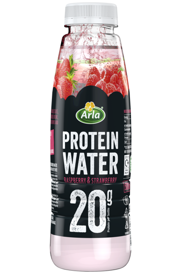 Strawberry & Raspberry Protein water