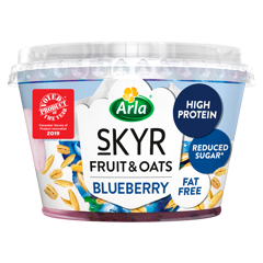 Fruit & Oats - Blueberry 190g