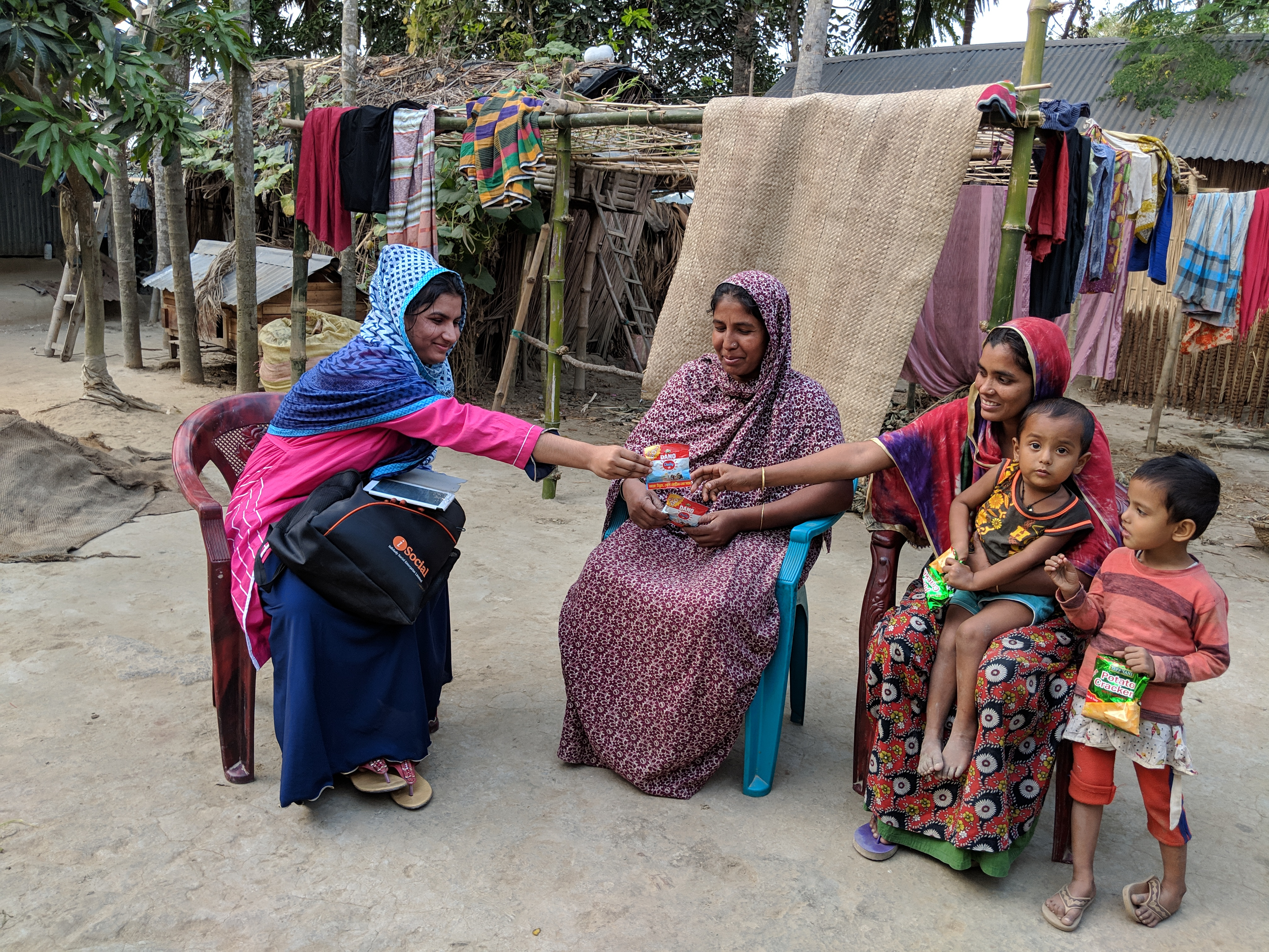Empowering Bangladeshi women to bike nutrition to their nation