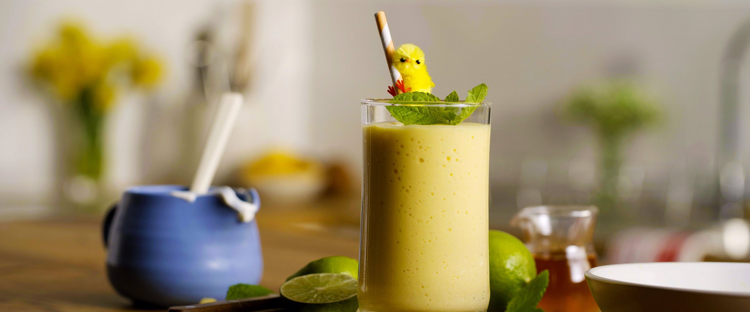 Mango smoothie hero image