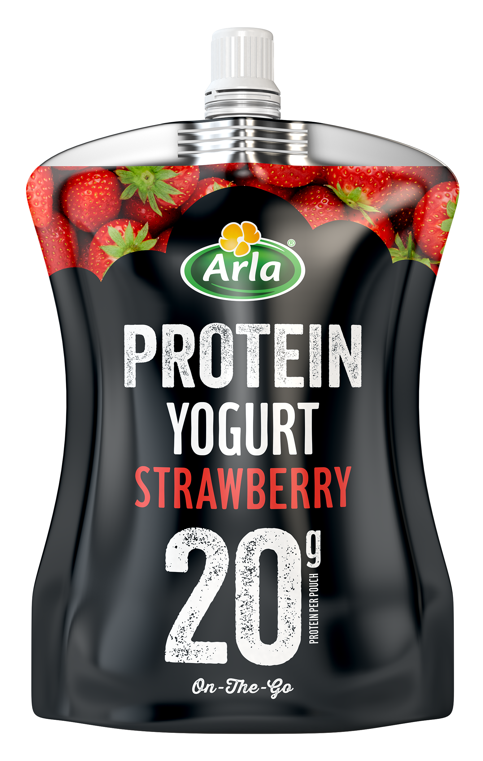 Arla Protein Strawberry Pouch 200g