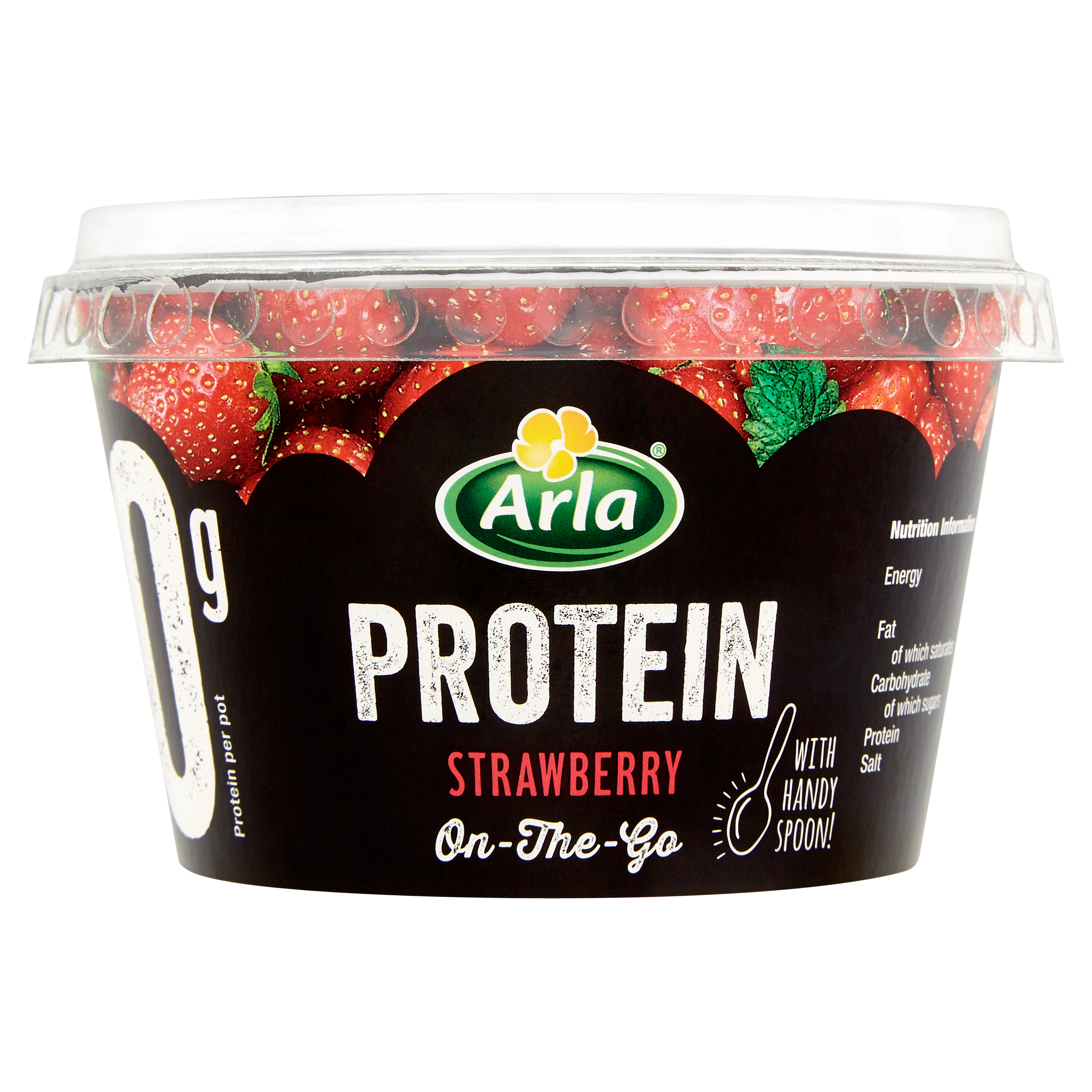 Arla Protein Strawberry with spoon 200g