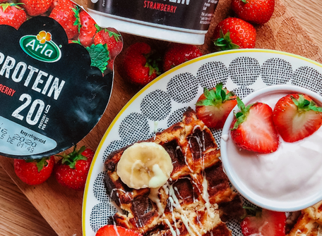 Waffles Image - Arla protein