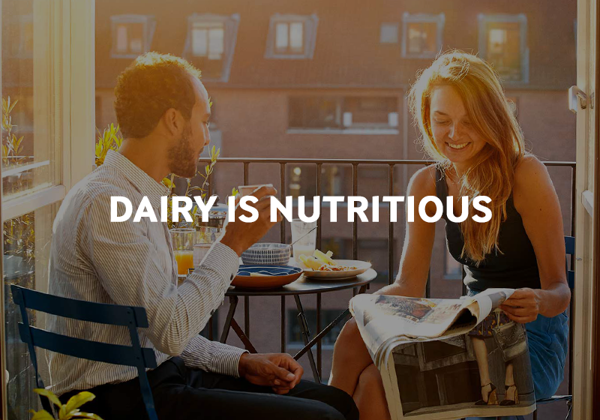 Read about the importance of dairy in a healthy diet.