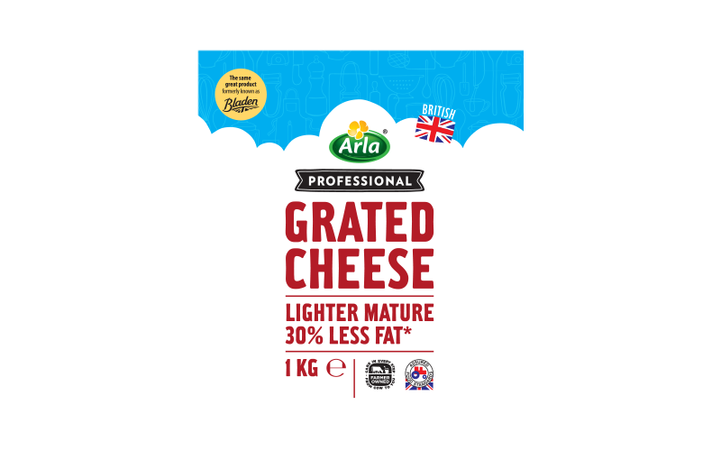 Arla® Professional (formerly known as Bladen® and Lockerbie®) BRITISH LIGHTER MATURE GTD 1KG