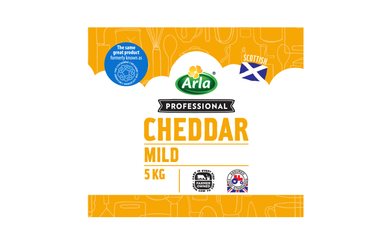 Arla® Professional (formerly known as Bladen® and Lockerbie®) SCOTTISH MILD WHITE 5KG