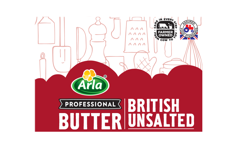 Arla® Professional (formerly known as Bladen® and Lockerbie®) BRITISH BUTTER UNSALTED 250G
