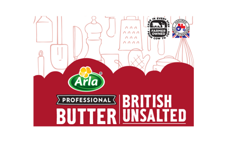 BRITISH BUTTER UNSALTED 250G
