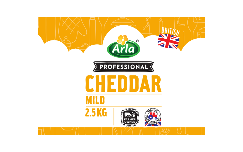 Arla® Professional (formerly known as Bladen® and Lockerbie®) BRITISH MILD WHITE 2.5KG