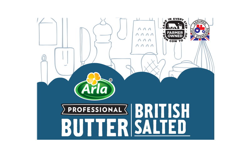 Arla® Professional (formerly known as Bladen® and Lockerbie®) BRITISH SALTED 250G