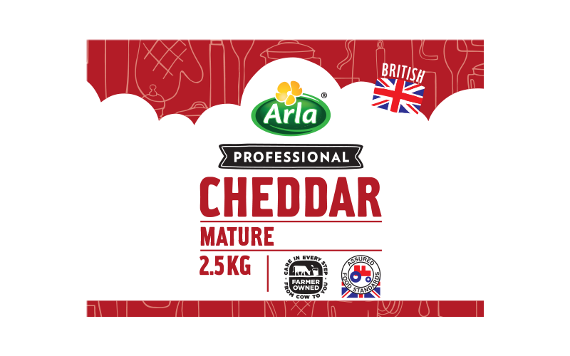 Arla® Professional (formerly known as Bladen® and Lockerbie®) BRITISH MATURE WHITE 2.5KG
