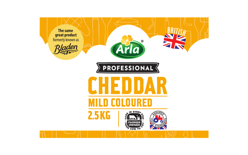Arla® Professional (formerly known as Bladen® and Lockerbie®) BRITISH MILD COLOURED 2.5KG