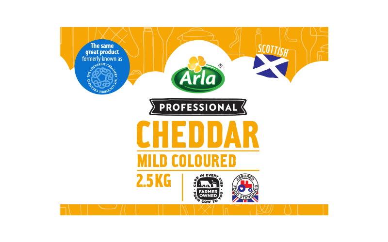 Arla® Professional (formerly known as Bladen® and Lockerbie®) SCOTTISH MILD COLOUR 2.5KG