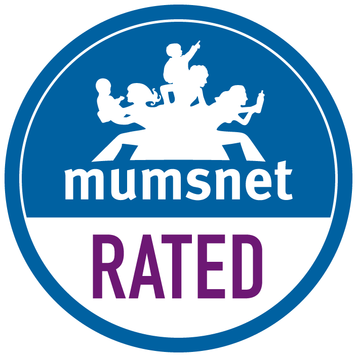 Mumsnet rated badge
