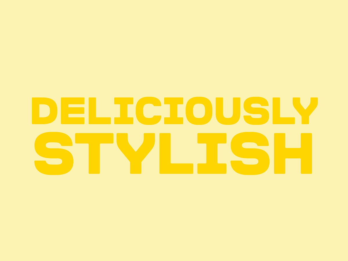 Deliciously Stylish