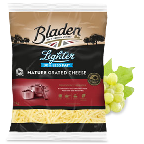 Bladen® 1kg Lighter Mature Grated Cheese*
