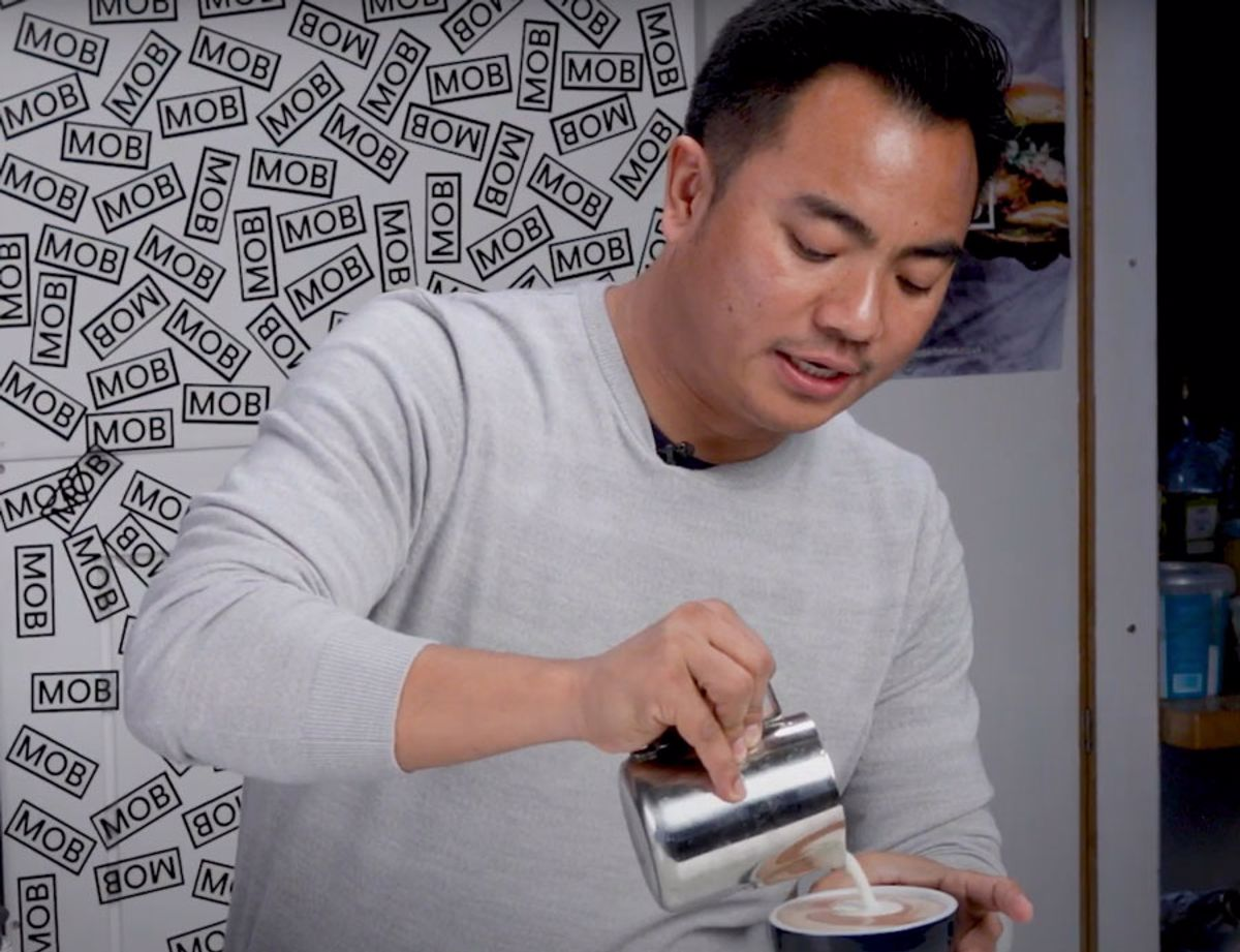 Mob Kitchen X Arla Cravendale coffee recipe video with Dhan Tamang